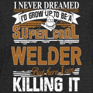 WELDER - COOL WELDER - Unisex Tri-Blend T-Shirt by American Apparel