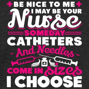 Nurse - Nurse - Unisex Tri-Blend T-Shirt by American Apparel