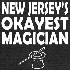 Magician - new jersey's okayest magician - Unisex Tri-Blend T-Shirt by American Apparel