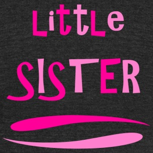 Sister - Little Sister - Unisex Tri-Blend T-Shirt by American Apparel
