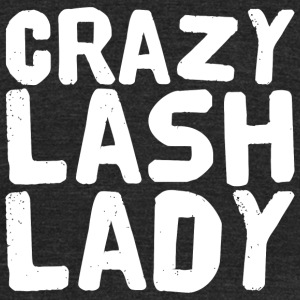 Eyelashes Crazy Lash Lady Be Younique Eyelashe - Unisex Tri-Blend T-Shirt by American Apparel