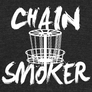 Chain smoker - chain smoker - Unisex Tri-Blend T-Shirt by American Apparel