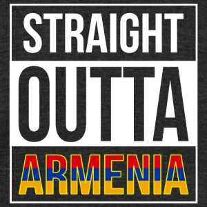 Armenia - Straight Outta Armenia - Unisex Tri-Blend T-Shirt by American Apparel