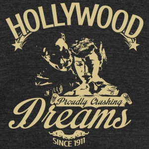 Hollywood - Hollywood Dreams - Unisex Tri-Blend T-Shirt by American Apparel