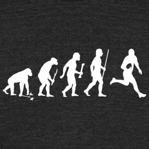 Rugby - Rugby Evolution - Unisex Tri-Blend T-Shirt by American Apparel