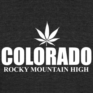 Colorado - colorado rocky moutain high - Unisex Tri-Blend T-Shirt by American Apparel