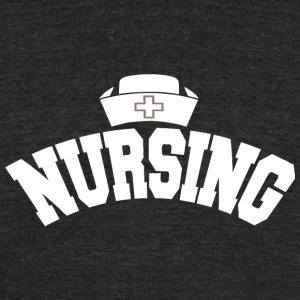 Nursing - nursing - Unisex Tri-Blend T-Shirt by American Apparel