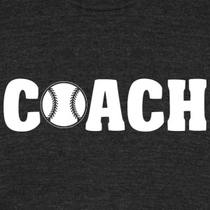 Baseball - Baseball Coach - Unisex Tri-Blend T-Shirt by American Apparel