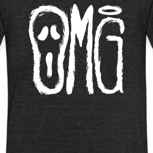 OMG - Unisex Tri-Blend T-Shirt by American Apparel