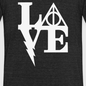 Harry Love - Unisex Tri-Blend T-Shirt by American Apparel