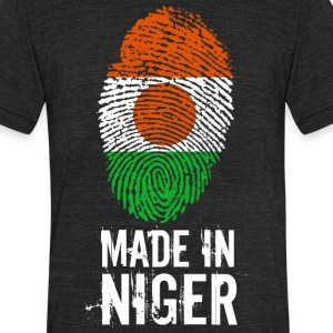 Made In Niger - Unisex Tri-Blend T-Shirt by American Apparel