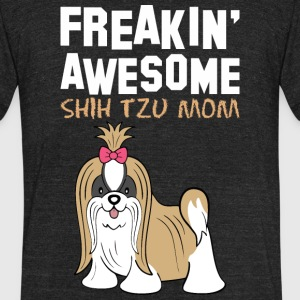 Freaking Awesome Beagle Mom - Unisex Tri-Blend T-Shirt by American Apparel