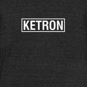 Ketron White - Unisex Tri-Blend T-Shirt by American Apparel