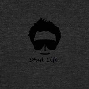 stud life - Unisex Tri-Blend T-Shirt by American Apparel