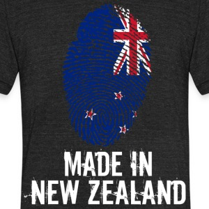 Made In New Zealand - Unisex Tri-Blend T-Shirt by American Apparel