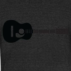 This machine kills fascists - Unisex Tri-Blend T-Shirt by American Apparel
