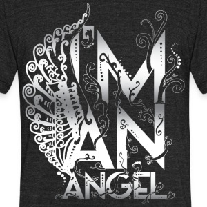 angel - Unisex Tri-Blend T-Shirt by American Apparel