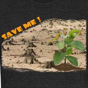 SAVE ME - Unisex Tri-Blend T-Shirt by American Apparel