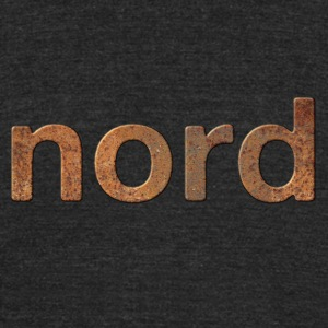 rusty nord - Unisex Tri-Blend T-Shirt by American Apparel