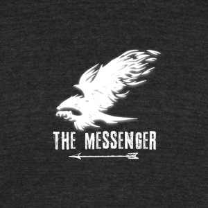 Hawk: The Messenger (White) - Unisex Tri-Blend T-Shirt by American Apparel