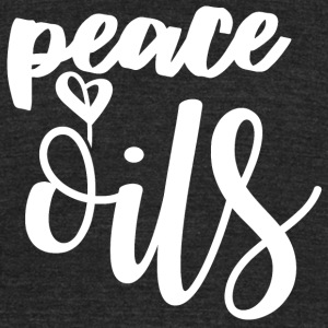 Peace Love Oils - Unisex Tri-Blend T-Shirt by American Apparel