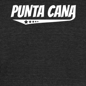 Punta Cana Retro Comic Book Style Logo - Unisex Tri-Blend T-Shirt by American Apparel
