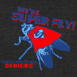 We're Super Fly Fairfax High School Seniors - Unisex Tri-Blend T-Shirt by American Apparel