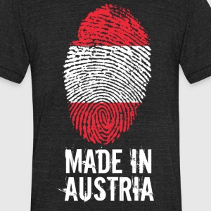 Made In Austria / Österreich - Unisex Tri-Blend T-Shirt by American Apparel