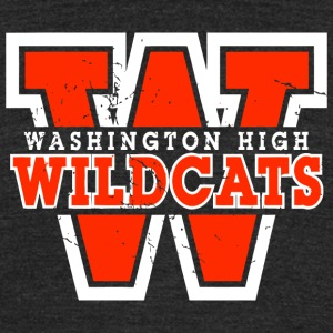 Washington High - Unisex Tri-Blend T-Shirt by American Apparel