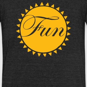Fun In The Sun - Unisex Tri-Blend T-Shirt by American Apparel
