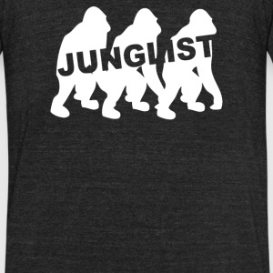 JUNGLIST DUBSTEP - Unisex Tri-Blend T-Shirt by American Apparel