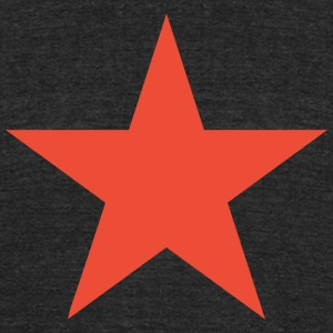 star_red - Unisex Tri-Blend T-Shirt by American Apparel
