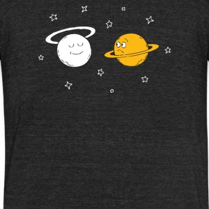 saturn - Unisex Tri-Blend T-Shirt by American Apparel