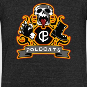 Full Throttle Polecats - Unisex Tri-Blend T-Shirt by American Apparel