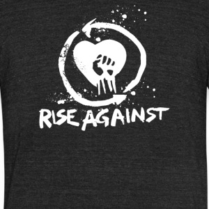 Rise Againts - Unisex Tri-Blend T-Shirt by American Apparel
