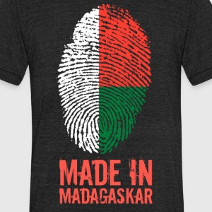 Made In Madagaskar / Madagasikara / Madagascar - Unisex Tri-Blend T-Shirt by American Apparel