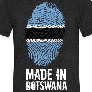 Made In Botswana - Unisex Tri-Blend T-Shirt by American Apparel
