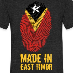 Made In East Timor - Unisex Tri-Blend T-Shirt by American Apparel