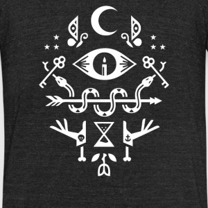 Let s Get Mystical - Unisex Tri-Blend T-Shirt by American Apparel