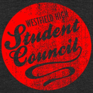 Westfield High Student Council - Unisex Tri-Blend T-Shirt by American Apparel