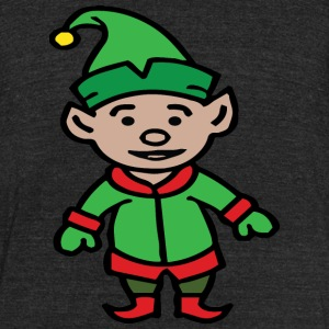 Elf christmas winter merry christmas - Unisex Tri-Blend T-Shirt by American Apparel