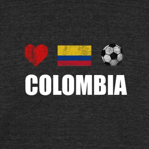 Colombia Football Colombian Soccer T-shirt - Unisex Tri-Blend T-Shirt by American Apparel