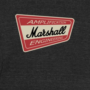 Marshall - Unisex Tri-Blend T-Shirt by American Apparel