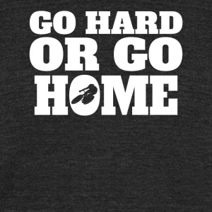 Go Hard Or Go Home Cycling - Unisex Tri-Blend T-Shirt by American Apparel