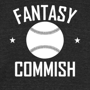 Fantasy Baseball Commish - Unisex Tri-Blend T-Shirt by American Apparel