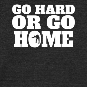 Go Hard Or Go Home Billiards - Unisex Tri-Blend T-Shirt by American Apparel