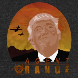 trump agent orange - Unisex Tri-Blend T-Shirt by American Apparel