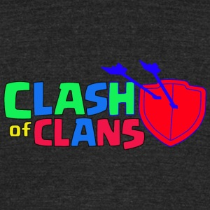 Clash of Clans logo Love - Unisex Tri-Blend T-Shirt by American Apparel