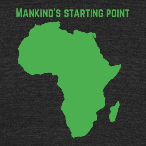 African start - Unisex Tri-Blend T-Shirt by American Apparel