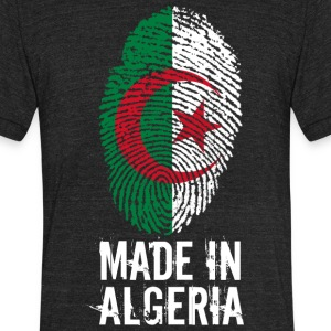 madeinAlgeria - Unisex Tri-Blend T-Shirt by American Apparel